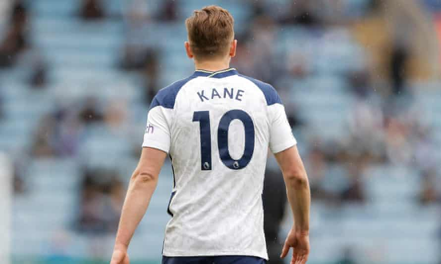 Harry Kane is trying to force a move away from Tottenham.
