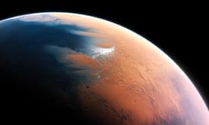 Nasa still aims to 'establish American leadership in the human exploration of Mars', its head says.