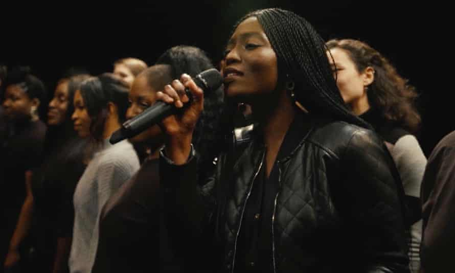 Soprano Minnie Oliver takes the lead in the Soul Sanctuary Gospel Choir's film, The Night Watchmen's Nativity.