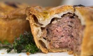 Brays Cottage Pork Pie course