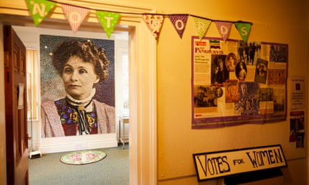 The Pankhurst Centre in Manchester, the family home of Emmeline Pankhurst and birthplace of the Suffragette movement.