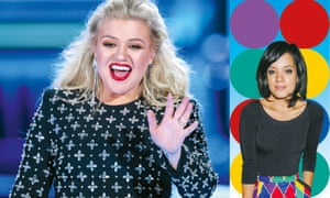 Chat-toppers: Kelly Clarkson and Lily Allen.