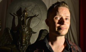 Lucien Greaves, spokesman for The Satanic Temple.
