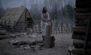 Ralph Ineson as Puritan patriarch William.