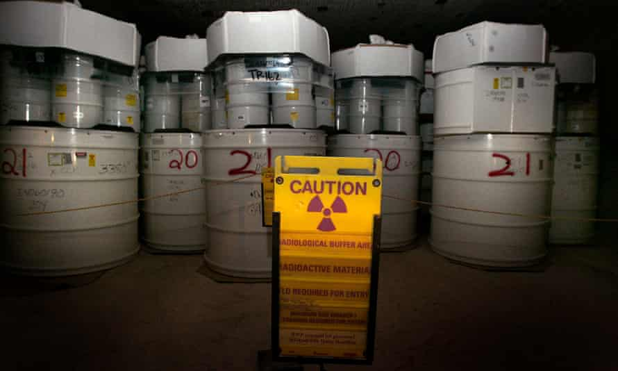 A timeline of 10,000 years … radioactive waste buried at the Waste Isolation Pilot Plant.