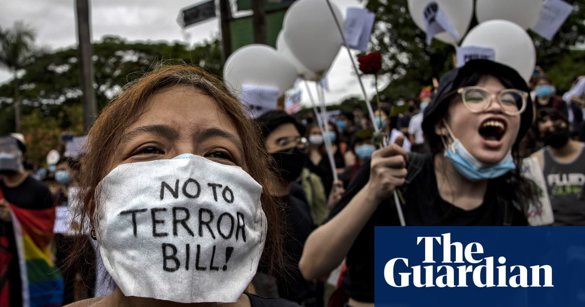 Duterte's anti-terror law a dark new chapter for Philippines, experts warn - The Guardian