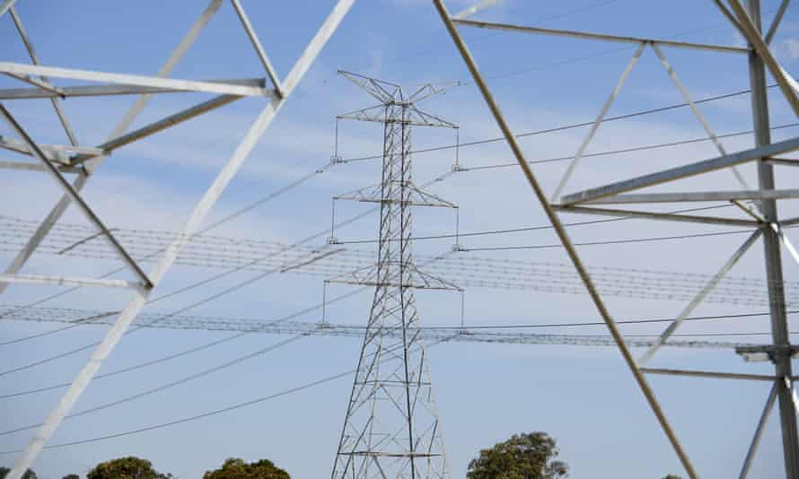 High-voltage electricity towers
