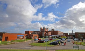 Furness hospital in Barrow, Cumbria, which was at the heart of the Morecambe Bay Investigation.