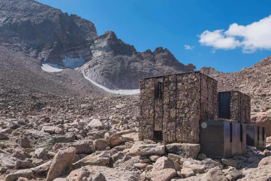 In Colorado, Rocky Mountain national park staff commissioned two new toilets in the Boulder Field area near Longs Peak.