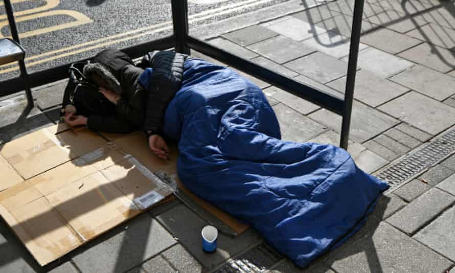 'Disgraceful levels of homelessness are seen in Britain today.'
