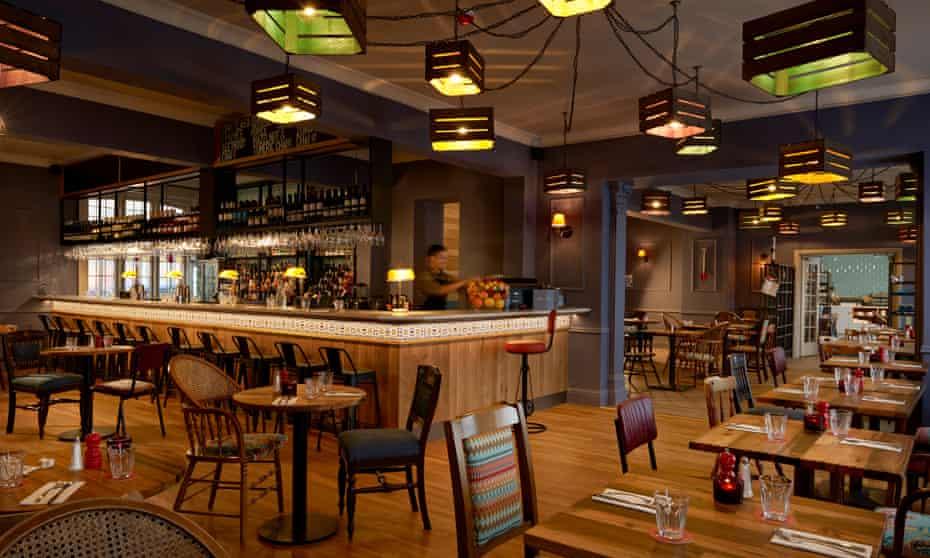 Bareca, the Bike and Boot's bar-restaurant-cafe. Scarborough, UK.