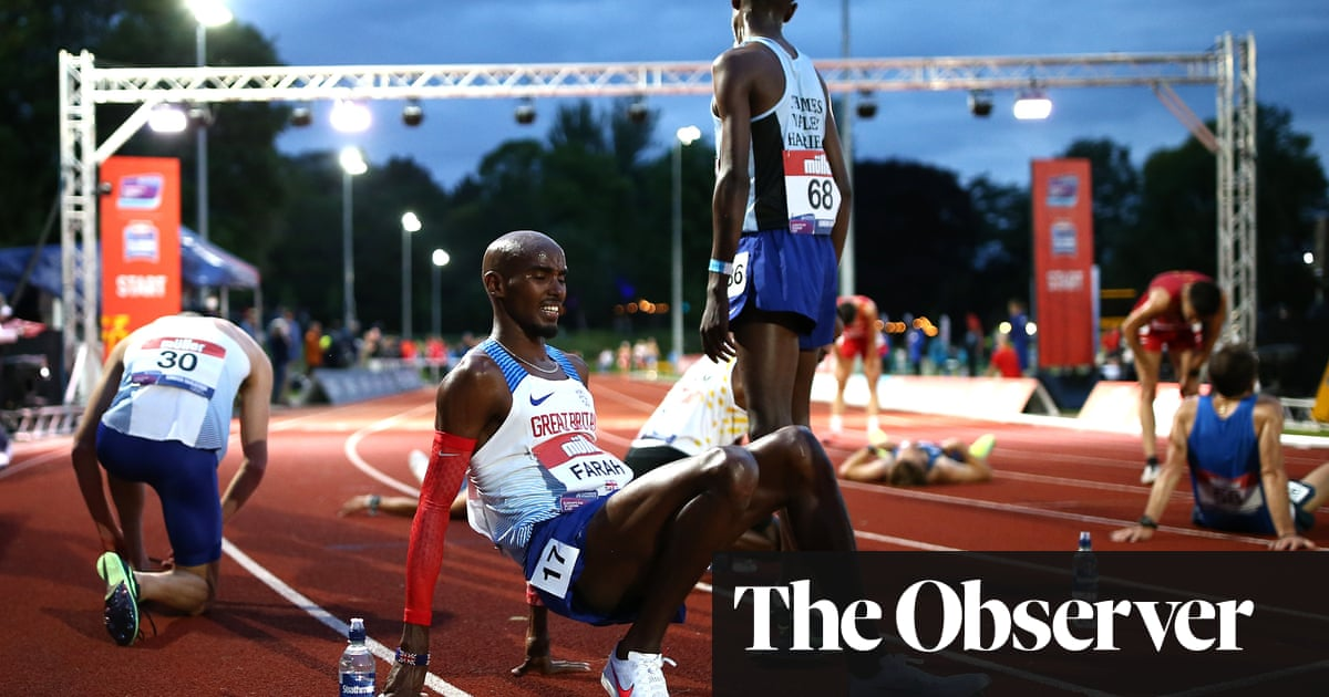 Mo Farah's Tokyo hopes in balance after disappointing return to track