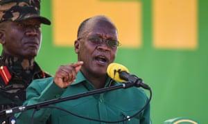 Tanzania's president, John Magufuli