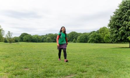 Liz Thomas's hike also took her to 100 parks across New York City