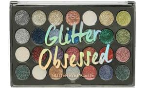 Primark Glitter 28 Shade Unicorn Palette, £4, €6