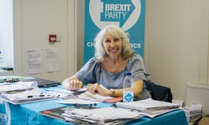 Brexit party supporter Diana Coad.