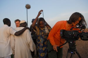 Kirsten Johnson in Darfur: 'there are moments of grace even among the moments of compromise and betrayal'