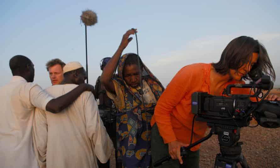 Cinematographer Kirsten Johnson in Darfur … Cameraperson, Sundance 2016