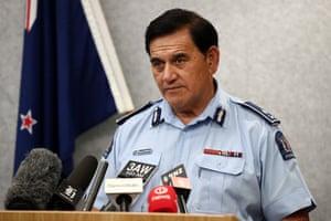 Police Deputy Commissioner Wally Haumaha.