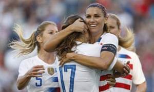 Alex Morgan leads a formidable attack for the US but there may be problems at the back