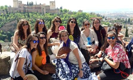 Hen weekend in Granada