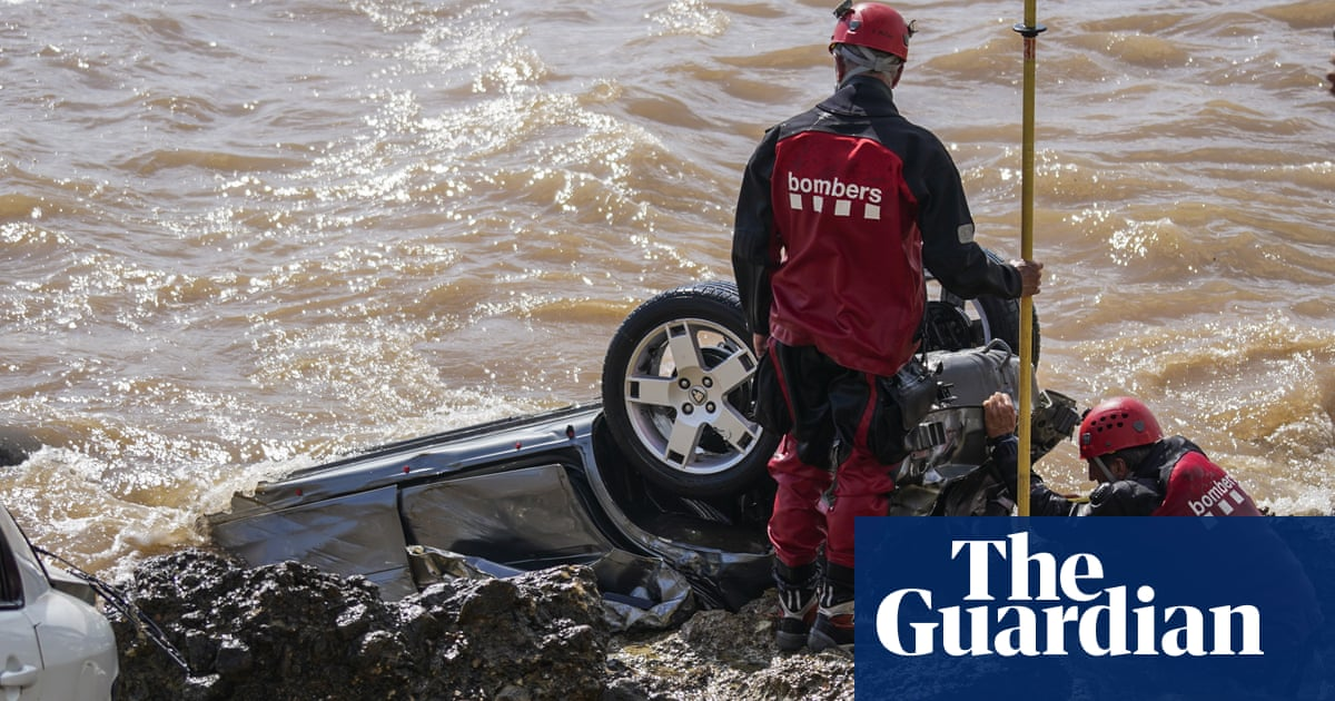 'We left it in God's hands': floods wreck Spanish seaside town