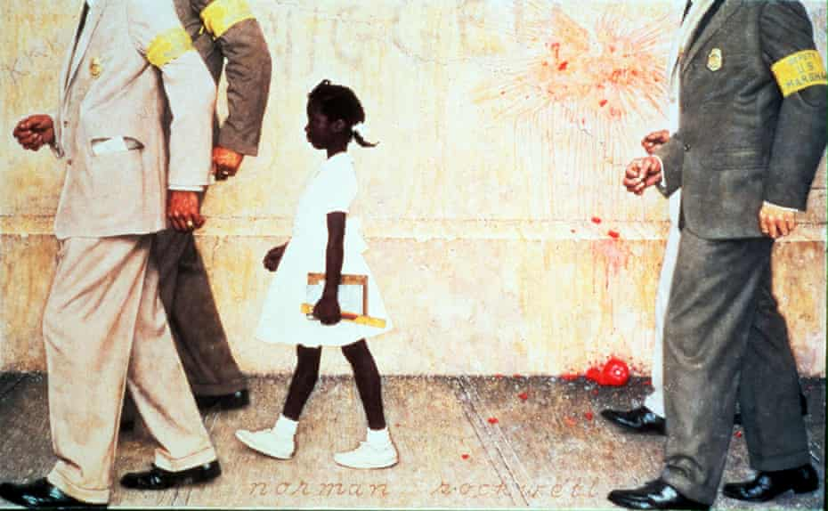 The Problem We All Live With, by Norman Rockwell.