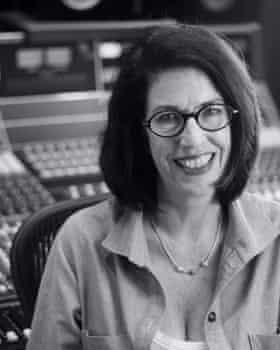 Susan Rogers in the studio.