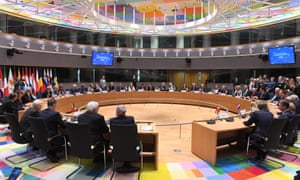 European Union foreign and defence ministers attend a signature ceremony for a defence pact in Brussels, aiming to mark a new era of European military integration to cement unity after Britain's decision to quit the bloc.