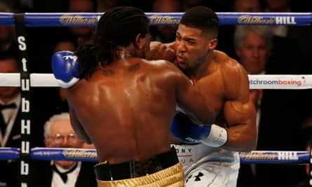Anthony Joshua took just two rounds to capture Charles Martin's IBF belt.