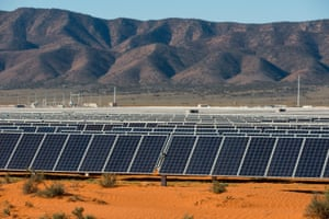 The Bungala solar power plant in South Australia