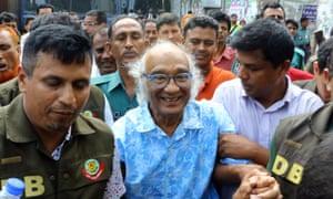 Shafik Rehman led to court