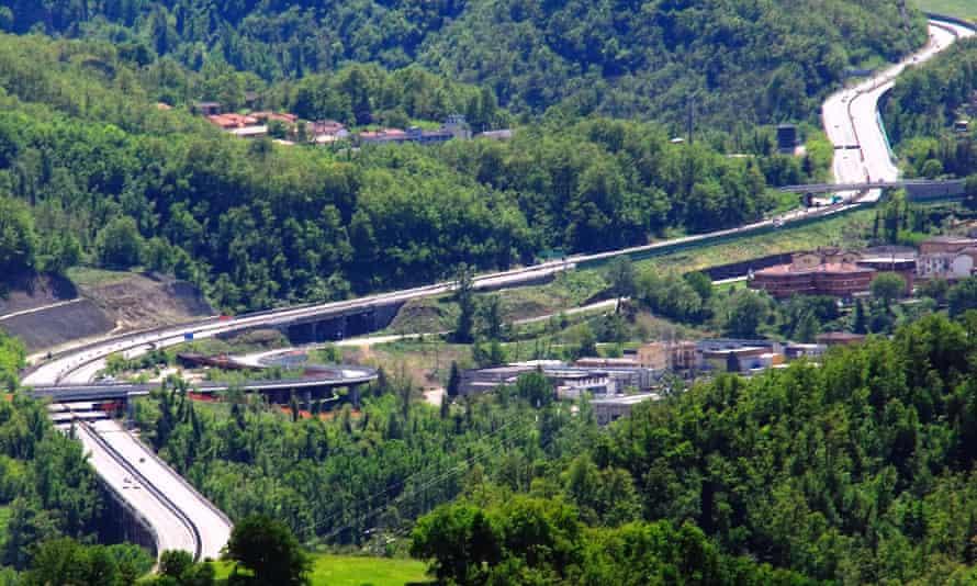 A1 motorway, Italy