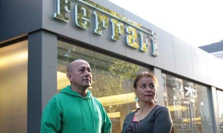 Angelica Valencia Bolanos and Freddy Lopez
