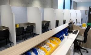 Melbourne's safe-injecting room.