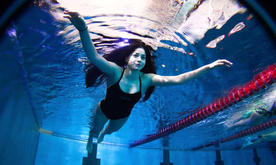 Yusra Mardini and her sister Sarah were among Syria's brightest swimming stars until the war interrupted their progress and they fled, eventually arriving in Germany.