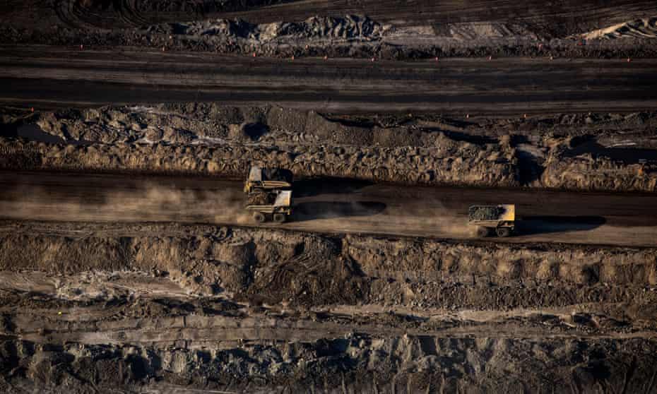 The Suncor tar sands site near in Northern Alberta, Canada.