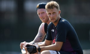 Joe Root says his England vice-captain, Ben Stokes, sets an example as a leader.