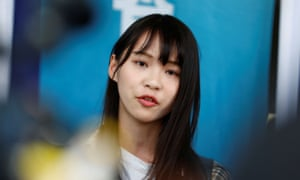 Hong Kong pro-democracy activist Agnes Chow has told friends she is prepared for jail.