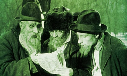 A still from the film City without Jews