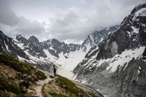 Many popular routes up or through the peaks have become too dangerous