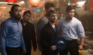 One of the many China-based scenes in Now You See Me 2.