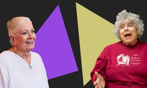 Vanessa Redgrave and Miriam Margolyes … 'I remember when we met, Vanessa. I was a member of the Workers Revolutionary party, and so were you.'