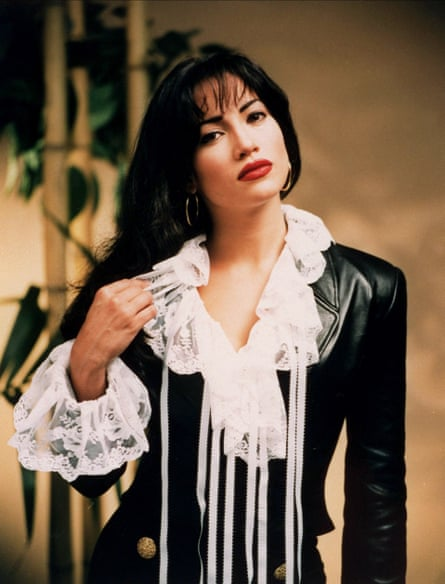 Jennifer Lopez playing Selena in the 1997 film.