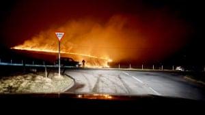 The fire on Saddleworth Moor