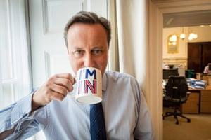 David Cameron in Downing Street in 2016