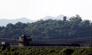 South and North Korean border