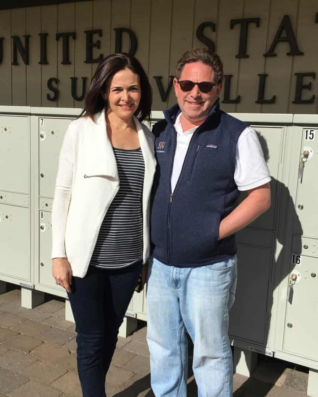 Sheryl Sandberg and Bobby Kotick
