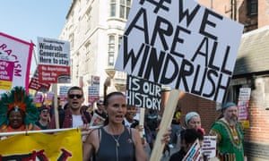 Windrush Generation March to Home Office in London, May 2018