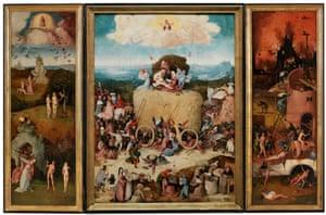 Bosch's Haywain Triptych